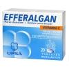 Efferalgan 330мг, витамин С, 20 шипучих таблеток